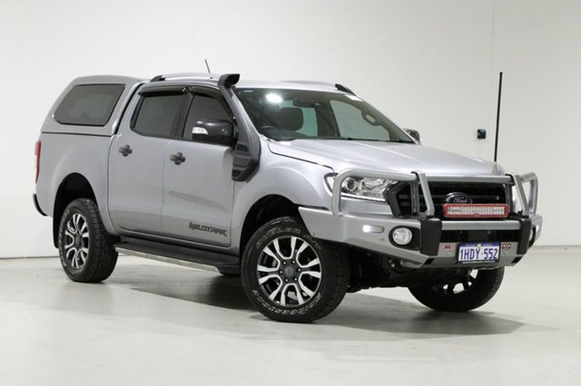 Used Ford Ranger PX MkIII MY19 Wildtrak 3.2 (4x4) Bentley, 2019 Ford Ranger PX MkIII MY19 Wildtrak 3.2 (4x4) Silver 6 Speed Automatic Dual Cab Pick-up