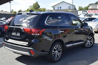 2018 Mitsubishi Outlander ZL MY19 Exceed AWD Black 6 Speed Sports Automatic Wagon.
