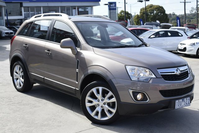 Used Holden Captiva CG MY13 5 LTZ Ferntree Gully, 2013 Holden Captiva CG MY13 5 LTZ Bronze 6 Speed Sports Automatic Wagon