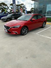 2015 Mazda 6 GJ1032 Atenza SKYACTIV-Drive Red 6 Speed Sports Automatic Sedan