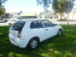 2003 Mitsubishi Mirage CE White 4 Speed Automatic Hatchback