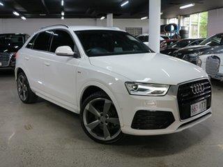 2017 Audi Q3 8U MY17 TFSI S Tronic Quattro Sport White 7 Speed Sports Automatic Dual Clutch Wagon.