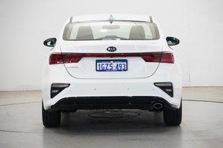 2020 Kia Cerato BD MY20 S Clear White 6 Speed Sports Automatic Sedan