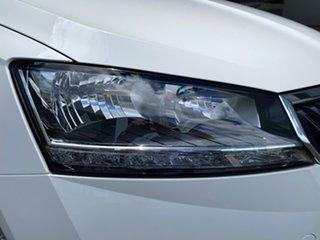 2020 Skoda Fabia NJ MY20.5 81TSI DSG White 7 Speed Sports Automatic Dual Clutch Hatchback