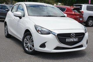 2016 Mazda 2 DJ2HA6 Neo SKYACTIV-MT White 6 Speed Manual Hatchback.