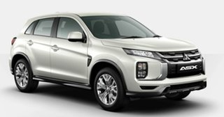 2020 Mitsubishi ASX XD MY21 ES 2WD White 1 Speed Constant Variable Wagon