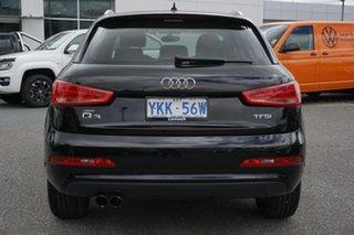 2014 Audi Q3 8U MY14 TFSI S Tronic Black 6 Speed Sports Automatic Dual Clutch Wagon