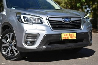2018 Subaru Forester S5 MY19 2.5i Premium CVT AWD Silver 7 Speed Constant Variable Wagon