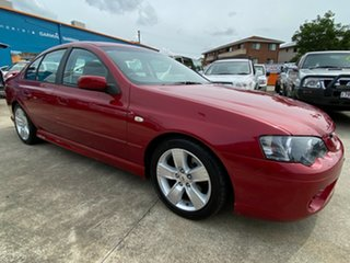 2007 Ford Falcon BF Mk II XR6 Red 6 Speed Manual Sedan.
