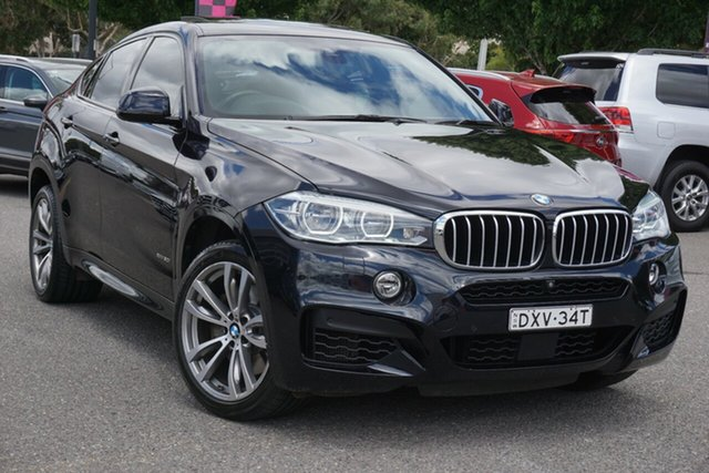 Used BMW X6 F16 xDrive50i Coupe Steptronic Phillip, 2015 BMW X6 F16 xDrive50i Coupe Steptronic Black 8 Speed Sports Automatic Wagon