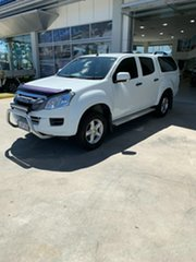 2016 Isuzu D-MAX MY15.5 SX Crew Cab 4x2 High Ride White 5 Speed Sports Automatic Utility