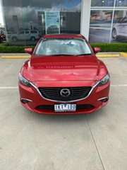 2015 Mazda 6 GJ1032 Atenza SKYACTIV-Drive Red 6 Speed Sports Automatic Sedan.