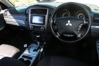 2011 Mitsubishi Pajero NT MY11 RX (4x4) Brown 5 Speed Auto Sports Mode Wagon