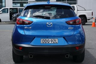 2016 Mazda CX-3 DK2W7A sTouring SKYACTIV-Drive Blue 6 Speed Sports Automatic Wagon