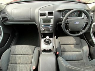 2007 Ford Falcon BF Mk II XR6 Red 6 Speed Manual Sedan