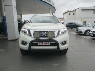 2017 Nissan Navara STX White Automatic Dual Cab