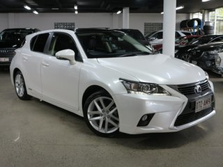 2016 Lexus CT ZWA10R MY16 CT200h Limited Edition White 1 Speed Constant Variable Hatchback Hybrid.