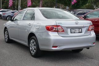 2011 Toyota Corolla ZRE152R MY11 Ascent Silver 4 Speed Automatic Sedan