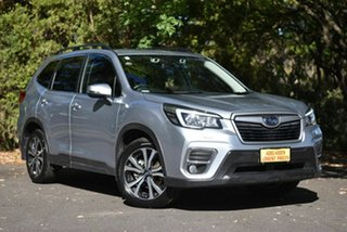 2018 Subaru Forester S5 MY19 2.5i Premium CVT AWD Silver 7 Speed Constant Variable Wagon.
