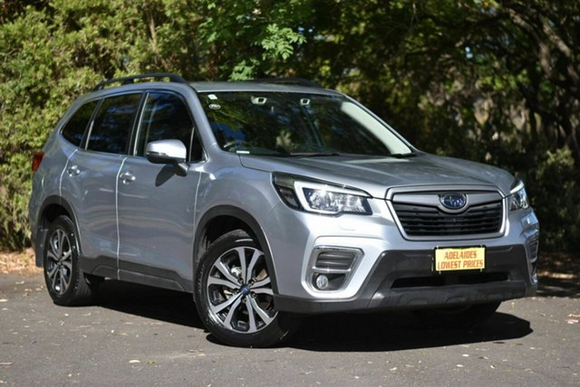 Used Subaru Forester S5 MY19 2.5i Premium CVT AWD Cheltenham, 2018 Subaru Forester S5 MY19 2.5i Premium CVT AWD Silver 7 Speed Constant Variable Wagon
