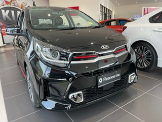 2020 Kia Picanto JA MY21 GT-Line Aurora Black 4 Speed Automatic Hatchback