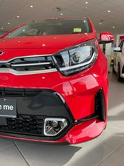 2020 Kia Picanto JA MY21 GT-Line Signal Red 4 Speed Automatic Hatchback