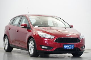 2016 Ford Focus LZ Trend Red Candy 6 Speed Automatic Hatchback.