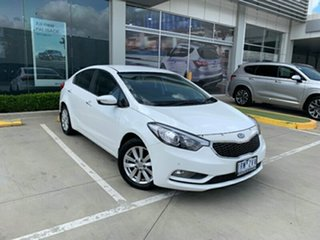 2014 Kia Cerato YD MY14 SI White 6 Speed Manual Sedan.