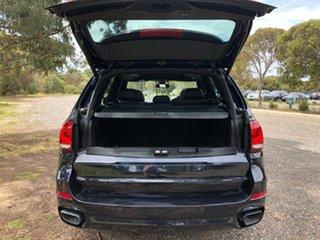 2014 BMW X5 F15 M50D Black 8 Speed Sports Automatic Wagon.