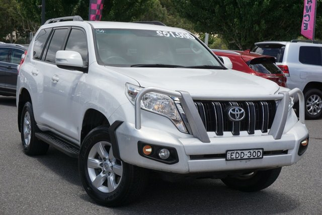 Used Toyota Landcruiser Prado GDJ150R GXL Phillip, 2017 Toyota Landcruiser Prado GDJ150R GXL White 6 Speed Sports Automatic Wagon