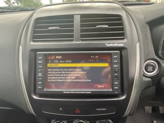 2011 Mitsubishi ASX XA MY11 Aspire Black 6 Speed Manual Wagon