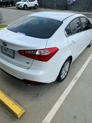 2014 Kia Cerato YD MY14 SI White 6 Speed Manual Sedan