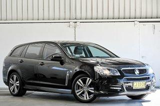 2015 Holden Commodore VF MY15 SV6 Sportwagon Black 6 Speed Sports Automatic Wagon.