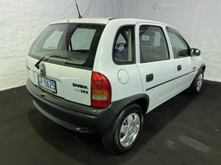 1995 Holden Barina SB Swing White 5 Speed Manual Hatchback