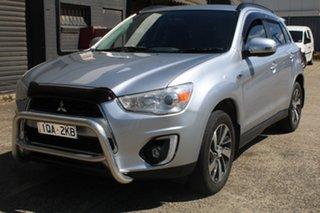 2014 Mitsubishi ASX XB MY15 LS (4WD) 6 Speed Automatic Wagon.