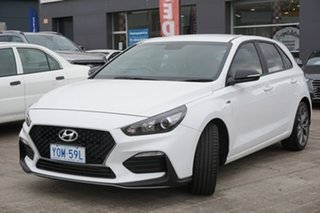 2019 Hyundai i30 PD.3 MY19 N Line Polar White 6 Speed Manual Hatchback