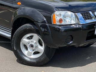 2013 Nissan Navara D22 S5 ST-R Black 5 Speed Manual Utility