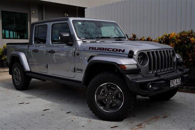 Demo Jeep Gladiator JT MY20 Rubicon Pick-up Cairns, 2020 Jeep Gladiator JT MY20 Rubicon Pick-up Billet 8 Speed Automatic Utility