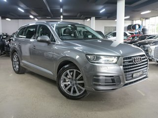 2017 Audi Q7 4M MY17 TDI Tiptronic Quattro Grey 8 Speed Sports Automatic Wagon.