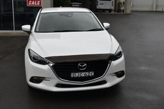 2016 Mazda 3 BM5438 SP25 SKYACTIV-Drive GT White 6 Speed Sports Automatic Hatchback.