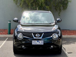 2014 Nissan Juke F15 MY14 ST 2WD Black 1 Speed Constant Variable Hatchback.