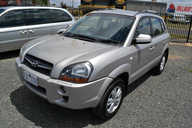 Used Hyundai Tucson 08 Upgrade City SX Wendouree, 2009 Hyundai Tucson 08 Upgrade City SX Silver 4 Speed Automatic Wagon