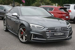 2017 Audi S5 F5 MY17 Tiptronic Quattro Grey 8 Speed Sports Automatic Coupe.