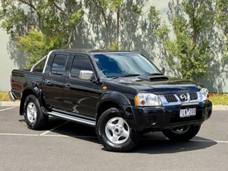 2013 Nissan Navara D22 S5 ST-R Black 5 Speed Manual Utility.