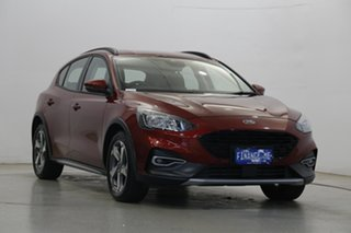 2019 Ford Focus SA 2020.25MY Active Ruby Red 8 Speed Automatic Hatchback