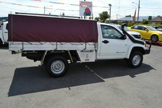 2010 Holden Colorado RC MY10 LX (4x4) White 5 Speed Manual Cab Chassis
