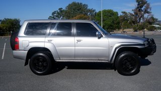 2006 Nissan Patrol GU IV MY06 ST Silver 4 Speed Automatic Wagon.
