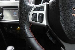 2016 Suzuki Swift FZ MY15 Sport White 7 Speed Constant Variable Hatchback