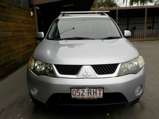 2009 Mitsubishi Outlander ZG MY09 LS Silver 6 Speed Constant Variable Wagon