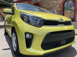 2018 Kia Picanto JA MY19 S Lime Green 4 Speed Automatic Hatchback